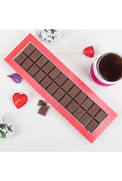 Hediye Sepeti Yeni İş Hediyesi Harf Çikolata