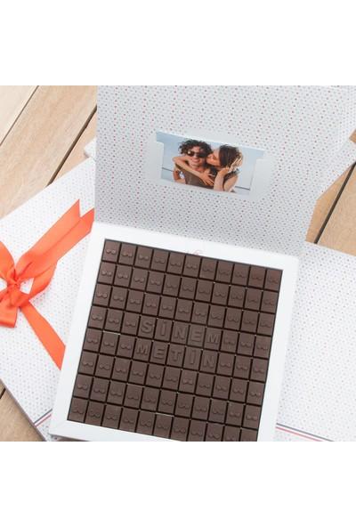 Hediye Sepeti Aşkı Sonsuz olanlara Özel 88 Harf Çikolata