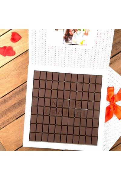 Hediye Sepeti Kişiye Özel 600 gr Harf Çikolata