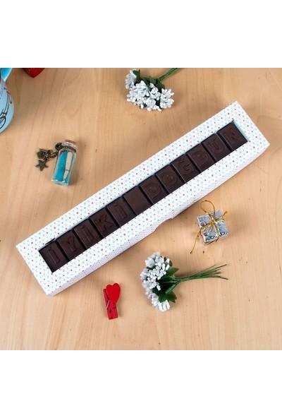 Hediye Sepeti İyi Ki Doğdun Harf Çikolata