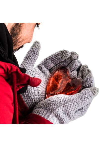 Hediye Sepeti Kırmızı Kalpli El Isıtıcısı