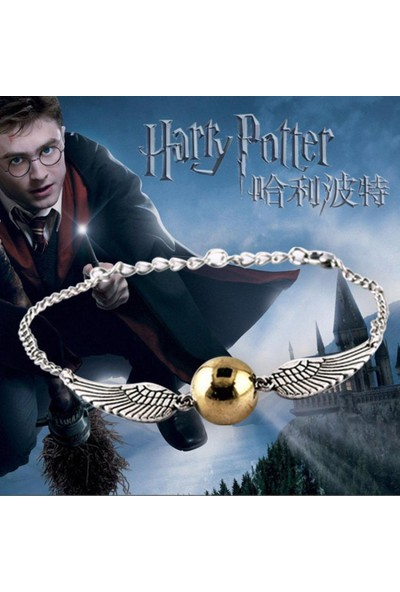 VipBT Harry Potter The Golden Snitch Kanatlı Cosplay Bileklik
