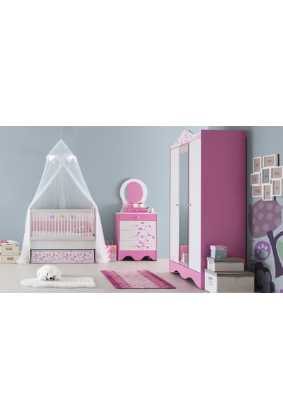 Yıldız Mobilya Pretty Bebek - Çocuk Odası