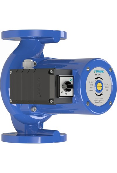 Sumak Ssp 3-40/10 Flanşlı Sirkülasyon Pompası Trifaze (380 V) 9 Mss 19 M³/H