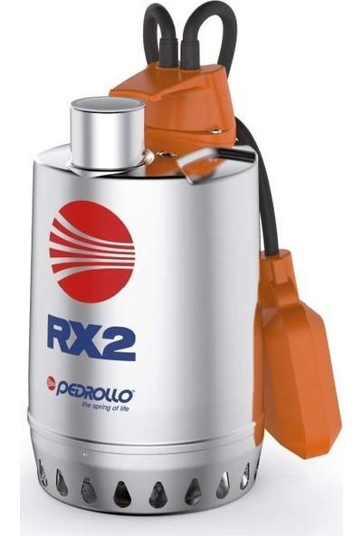 Pedrollo Rxm 2 Flatörlü Full Paslanmaz Drenaj Dalgıç Pompa Monofaze(220 Volt) 10 Mss 13.2 M³/H