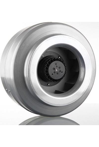 Dündar Ck20-E1 Kanal Tipi Metal Radyal Yuvarlak Fan 950 M³ 2500 Rpm