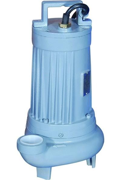 Sumak Sbrt30/2 Bıçaklı Foseptik Dalgıç Pompa Trifaze (380V) 3 Hp