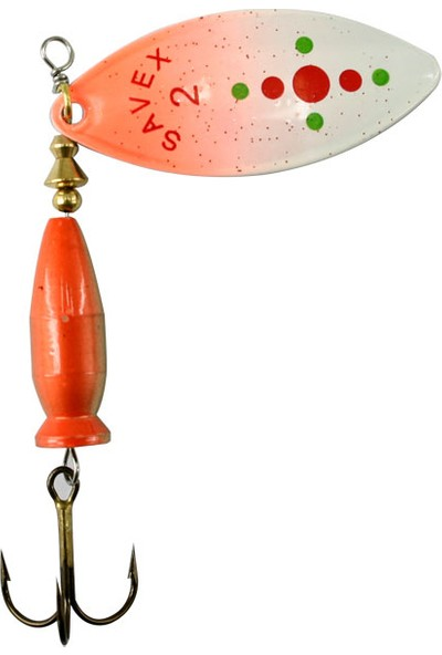 Savex Alpha Long Beyaz/ Üst Portakal&Kırmızı Noktalı No:2/20 Gr