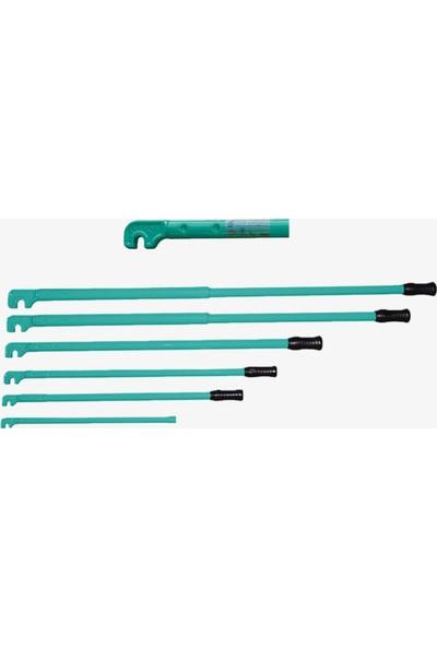 Yakar 10 mm Demir Bükme Anahtarı Dövme Çelik