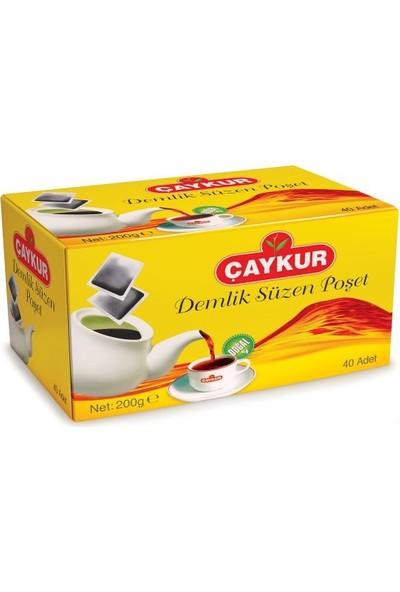 Çaykur Demlik Poşet Çay 200 gr (12 li )