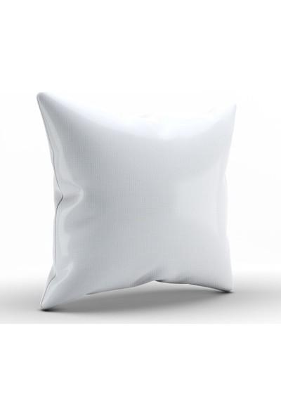 Alaca Sıcak Renkler Modern Tasarım Kırlent Yastık