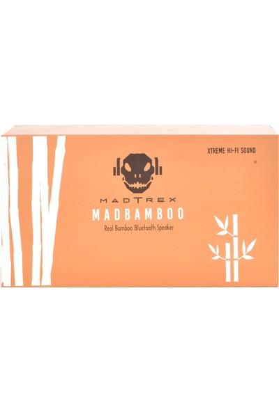 Madtrex MADBAMBOO Xtreme HI-FI Sound Speaker Bambu Bluetooth Hoparlör