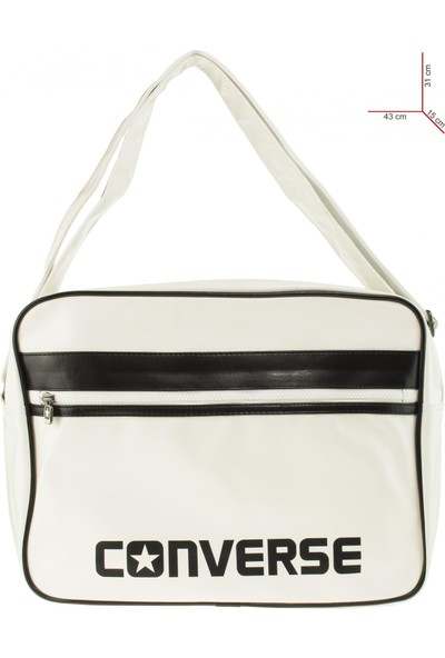 Converse Reporter Sports Postacı Beyaz Unisex Çanta