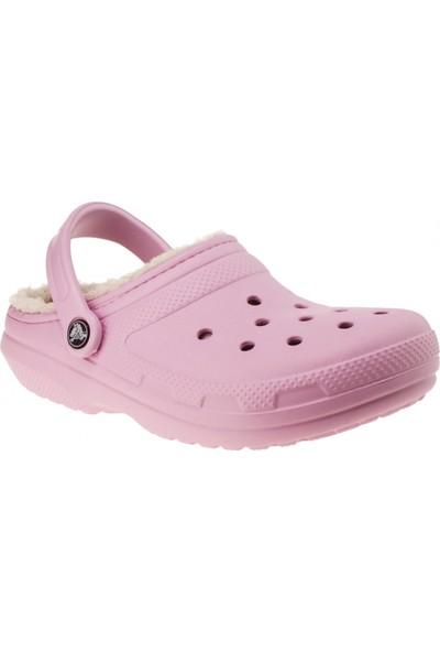 Crocs 203591 Classic Lined Clog Pembe Unisex Terlik