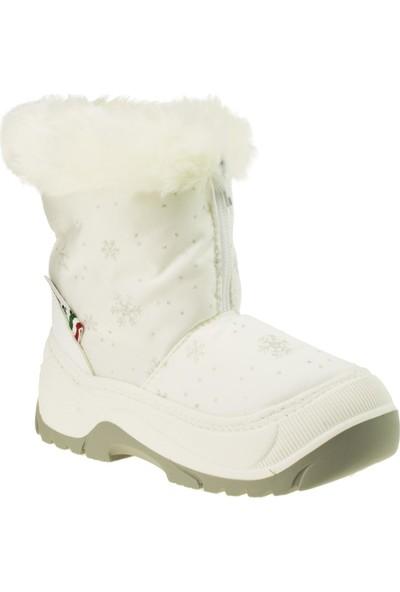 Attiba 99951 Fur Basilea Kar Beyaz Bebek Bot