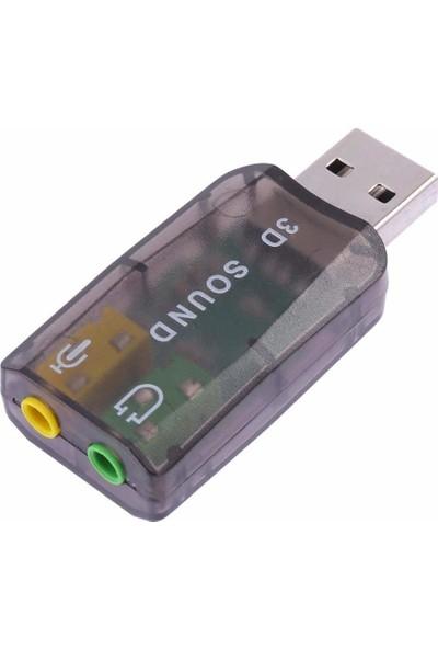 Unico 34215 USB Ses Kartı Siyah