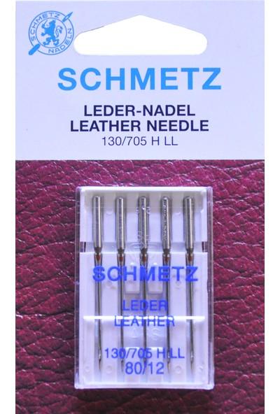 Schmetz 12 Numara Ev Tipi Dikiş Makine Deri İğnesi