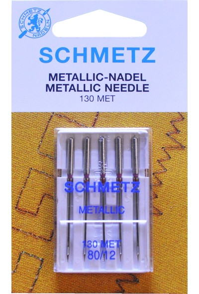 Schmetz 12 Numara Ev Tipi Dikiş Makine Sim İğnesi