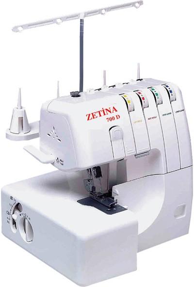 Zetina 700D 4 iplikli Ev Tipi Overlok Makinesi