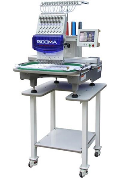 Ri̇coma RCM1501TC-7S Tek Kafa 15 İğne Nakış Makinesi