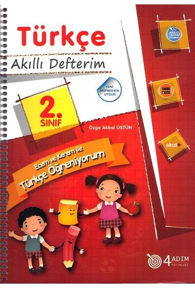 4 Adım 2. Sınıf Türkçe Akıllı Defterim