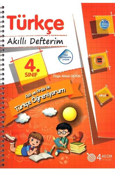 4 Adım 4. Sınıf Türkçe Akıllı Defterim