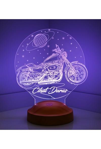 3D Lamba Kişiye Özel Motorsiklet Chopper