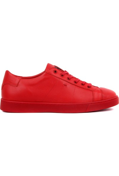 Sail Laker's - Kırmızı Deri Erkek Günlük Ayakkabı