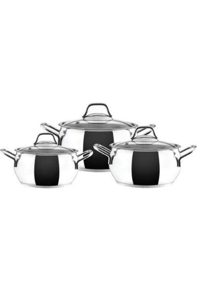 Karaca Ege Midi Çelik Takımı 6 Parça
