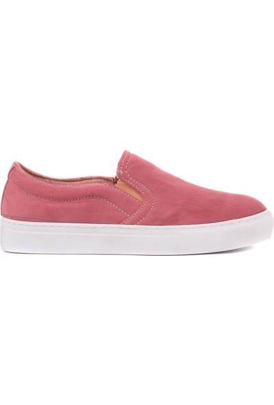 Moxee - Bordo Kadın Günlük Ayakkabı