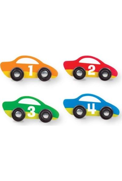 Melissa&Doug Oyun Halı Seti - Yarış Arabaları