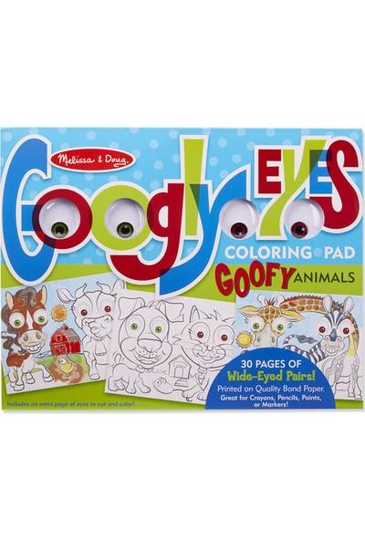 Melissa&Doug Dev Boyama Kitabı - Komik Hayvanlar