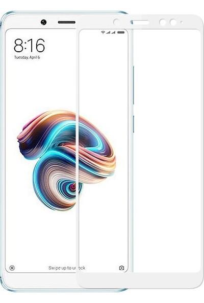 Sonmodashop Xiaomi Redmi Note 5 Tam Ekran 3D Cam Ekran Koruyucu