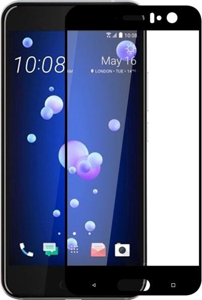 Sonmodashop HTC U11 2.5D Tam Ekran Temperli Cam Ekran Koruyucu