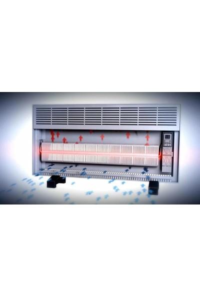 Vigo Elektrikli Panel Konvektör Isıtıcı Manuel 1500 Watt Beyaz