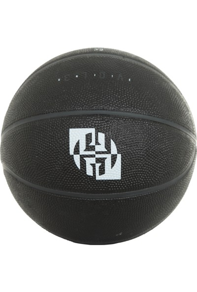 Adidas ACW6786 Harden Mini Bal Çocuk Basketbol Topu Siyah