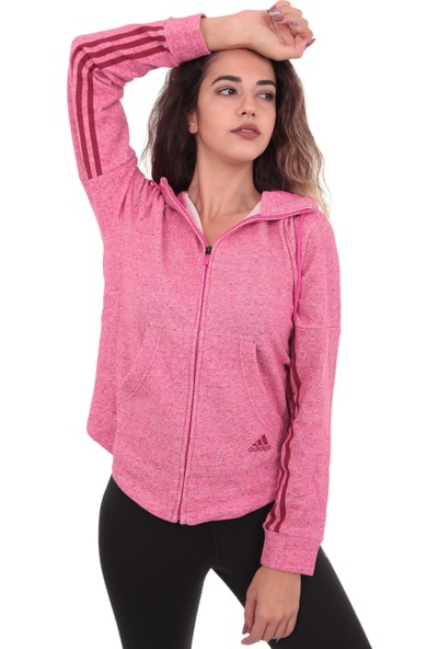 Adidas ADH8162 S2S Fz Hoody Kadın Ceket Pembe