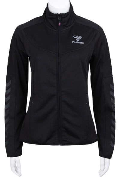 Hummel Hm920084-2001 Hmlsiri Poly Zip Jacket Kadın Ceket Siyah