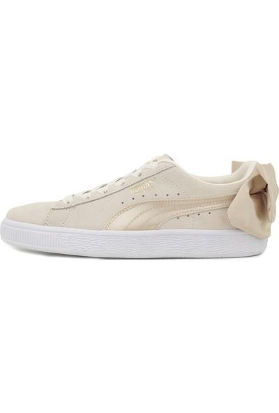 Puma P367732 Suede Bow Varsity Wn S Kadın Günlük Ayakkabı Beyaz
