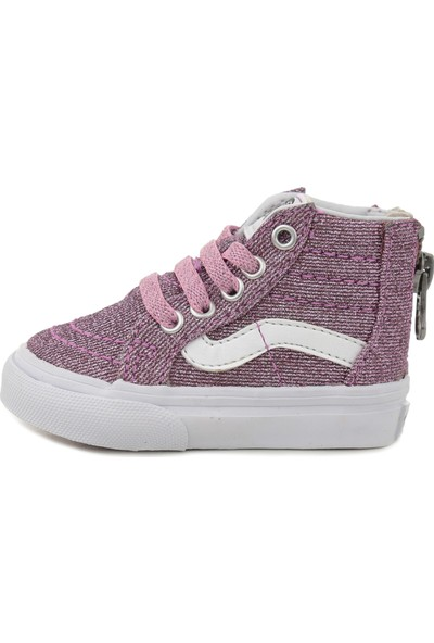 Vans Vn0A32R3U3U1 Td Sk8-Hi Zip Çocuk Günlük Ayakkabı Pembe