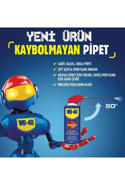 Henkel Wd 40 Smart Straw Pas Sökücü Yağlayıcı 350 Ml