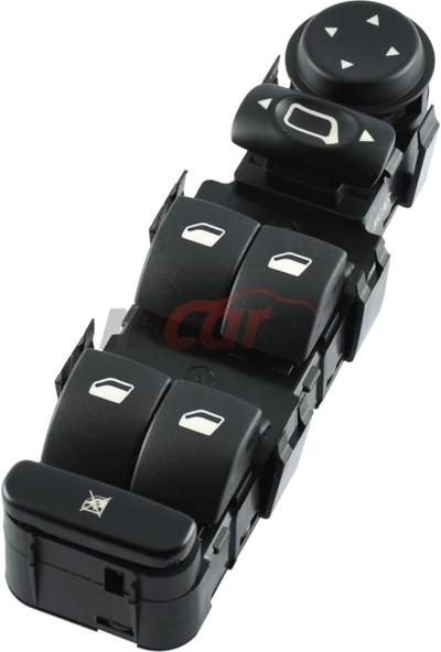Mcar Citroen C4 / Cam Anahtarı, Sol, Dörtlü