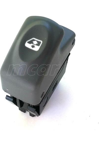 Mcar Renault Kangoo / Cam Anahtarı, Gri, 6 Pin