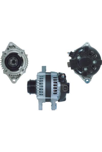 Remark Toyota Auris 1.4 D4D E15 2007 - 2009 / Alternatör, Nippondenso Tip, 12V, 115A