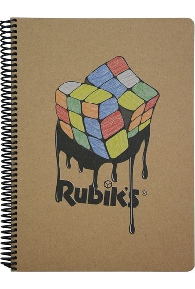 Mynote Rubiks Kraft Defter A4 100 Yaprak Kareli