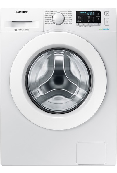 Samsung WW80J5455MW/AH 8 kg DIT Motor 1400 Devir Çamaşır Makinesi