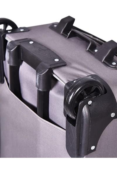 Tüyran Büyük Boy Tekerlekli Körüklü Bavul