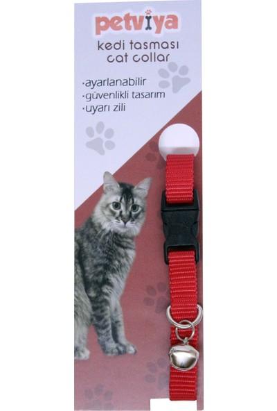Petviya Ayarlanabilir Zilli Kedi Boyun Tasması