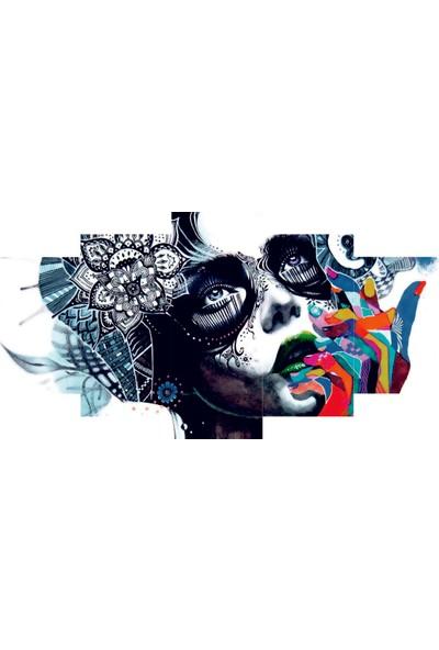 Reti̇color Sanatsal Yüz Temalı Tablo