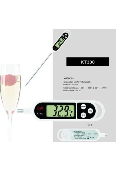Termometre Sıvı,Gıda,Et,Su,Yiyecek Sıcaklık Ölçer Mutfak thr138